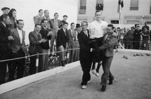 Joaquín Salas, primer Campeón de España