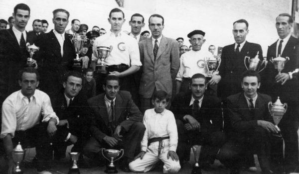 Participantes del Primer Campeonato Nacional en 1941